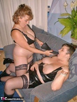 Curvy Claire. Leather Lesbos Pt1 Free Pic 14