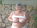 GrandmaLibby. Relaxing In The Garden Free Pic 6