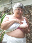 GrandmaLibby. Relaxing In The Garden Free Pic 7