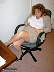 CurvyClaire. Office Gear & Thigh Boots Pt1 Free Pic 2