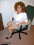 CurvyClaire. Office Gear & Thigh Boots Pt1 Free Pic 3