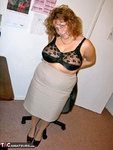 CurvyClaire. Office Gear & Thigh Boots Pt1 Free Pic 8