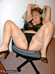 CurvyClaire. Office Gear & Thigh Boots Pt1 Free Pic 14