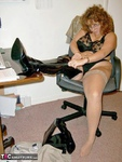 CurvyClaire. Office Gear & Thigh Boots Pt1 Free Pic 16