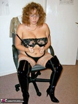 CurvyClaire. Office Gear & Thigh Boots Pt1 Free Pic 20