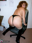 CurvyClaire. Office Gear & Thigh Boots Pt2 Free Pic 11