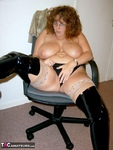 CurvyClaire. Office Gear & Thigh Boots Pt2 Free Pic 12