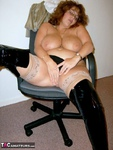 CurvyClaire. Office Gear & Thigh Boots Pt2 Free Pic 13