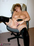 CurvyClaire. Office Gear & Thigh Boots Pt2 Free Pic 14