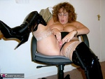 CurvyClaire. Office Gear & Thigh Boots Pt2 Free Pic 17