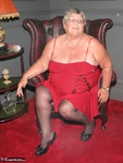 Grandma Libby. Red Dress Free Pic 1