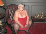 Grandma Libby. Red Dress Free Pic 2