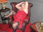 Grandma Libby. Red Dress Free Pic 4
