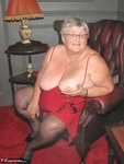 Grandma Libby. Red Dress Free Pic 5