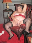 Grandma Libby. Red Dress Free Pic 13