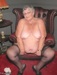 Grandma Libby. Red Dress Free Pic 15