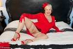 SpeedyBee. On The Bed In Red Free Pic 3