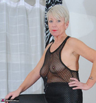 ShazzyB. PVC and Fishnet Striptease 2 Free Pic 4