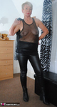 ShazzyB. PVC and Fishnet Striptease 2 Free Pic 13