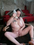 MaryBitch. Dildo Games On A Latex Bed Free Pic 4