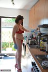 Hot Milf. Red Hot In The Kitchen Hard At Work Free Pic 18