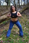 KimberlyScott. Outdoor Striptease Pt1 Free Pic 13