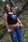 KimberlyScott. Outdoor Striptease Pt1 Free Pic 14