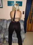 Sweet Susi. Smoking in my black dress and nude Free Pic 4
