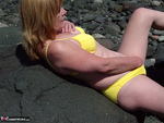 CougarBabeJolee. Bikini On The Beach Free Pic 6