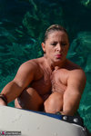 Nude Chrissy. Boat Trip Free Pic 13
