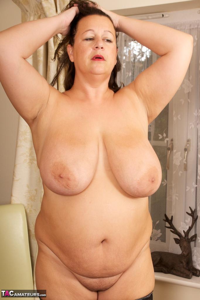 Black nude model women
