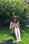HotMilf. Striptease In The Meadow Free Pic 17