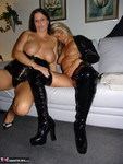 Sweet Susi. Horny Policewoman Seduces Lady In Black Free Pic 12