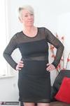 Shazzy B. Black Dress No Panties Free Pic 4