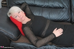 Shazzy B. Black Dress No Panties Free Pic 10
