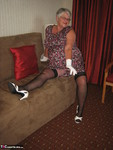 GirdleGoddess. White Stilettos Free Pic 5