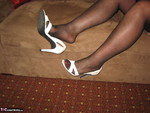 GirdleGoddess. White Stilettos Free Pic 15