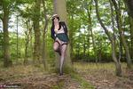 BarbySlut. Schoolie In The Woods Free Pic 8