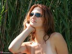 Vanessa. Flashing at the lake Free Pic 7