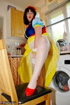 JuiceyJaney. Snow White & Her Yellow Marigolds Pt1 Free Pic 1