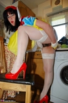 JuiceyJaney. Snow White & Her Yellow Marigolds Pt1 Free Pic 17