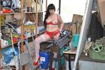 BarbySlut. Barby Helps Out At Work Free Pic