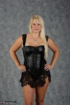 SweetSusi. Blonde In Black Free Pic 1