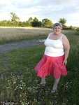 Grandma Libby. Flashing Outdoors Free Pic 1