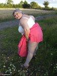 Grandma Libby. Flashing Outdoors Free Pic 3