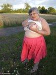 Grandma Libby. Flashing Outdoors Free Pic 5
