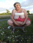 Grandma Libby. Flashing Outdoors Free Pic 15