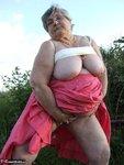 Grandma Libby. Flashing Outdoors Free Pic 19