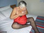 Grandma Libby. Red & Black Free Pic 4