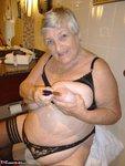 Grandma Libby. White Robe Bathroom Free Pic 8